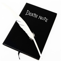 New Creative Death Note Notebook Retro Diary Magazine Books Stationery Office Supplies Children Christmas Gifts Free