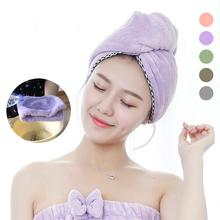 XY Fancy Newest Microfibre After Shower Hair Drying Wrap Womens