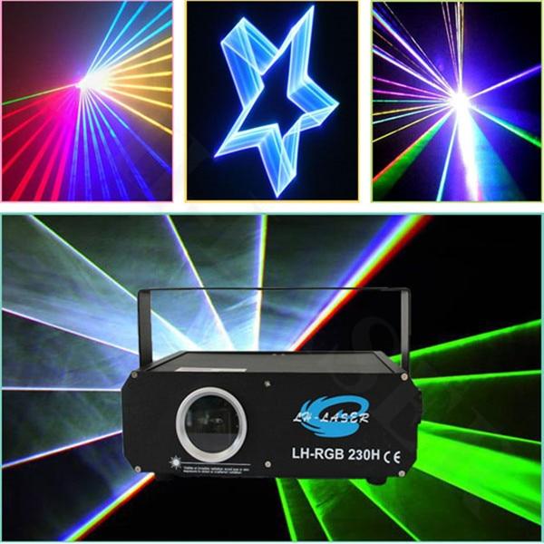 1000 MW RGB full color animación láser DMX módulo analógico láser/luces láser programables
