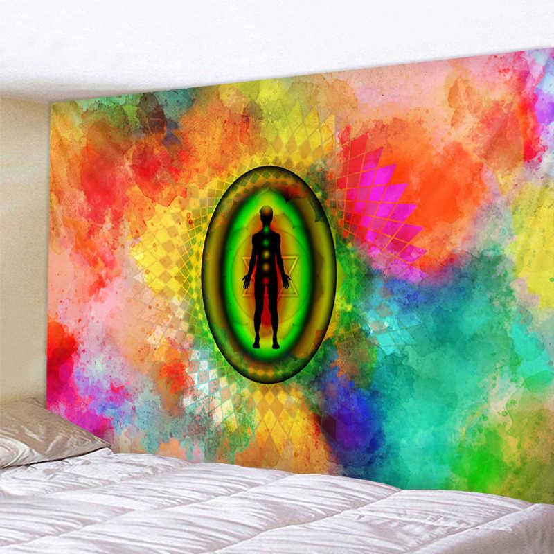 星空の Galaxy 装飾サイケデリックタペストリー壁掛けインド曼荼羅タペストリーヒッピーチャクラタペストリー自由奔放に生きる壁布