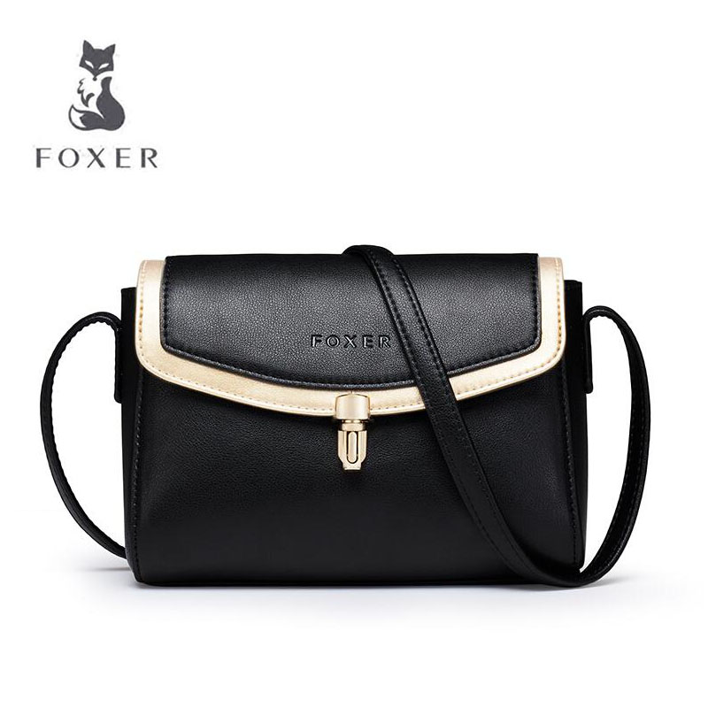 FOXER 2019 summer New Cowhide Materials women bag designer fashion luxury small bag women leather Shoulder Crossbody BagsFOXER 2019 summer New Cowhide Materials women bag designer fashion luxury small bag women leather Shoulder Crossbody Bags