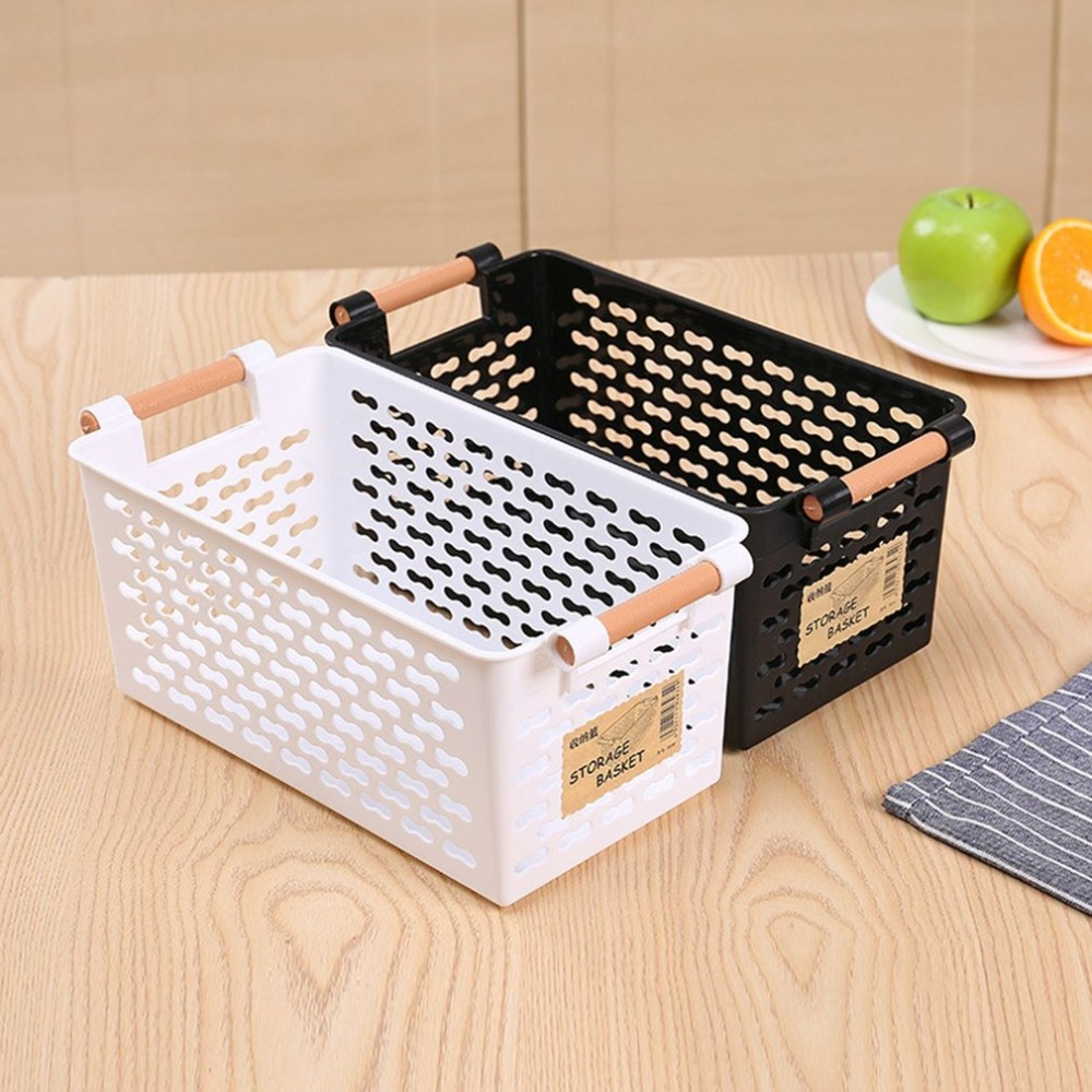Simple Storage Case Plastic Organizer Box Useful Sundries Basket Container Holder Home Storage Organziation Kitchen Sorting Rack