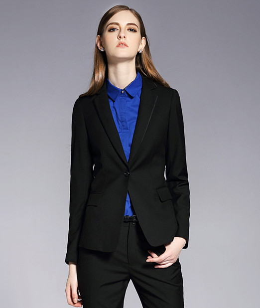 2018 Formale Büro Uniform Custom Designs Frauen Hose Anzüge Elegante Hosenanzüge Dame Ol Business Anzüge
