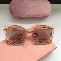 2018 luxury Runway sunglasses women brand designer sun glasses for women Carter glasses A0602