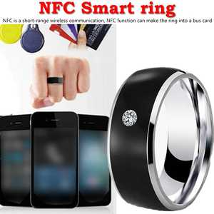 Intelligent-Ring Finger NFC Smart-Wear All-Android-Technology for Multifunctional