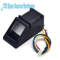 All In One Optical Fingerprint Reader Sensor Module For Arduino Mega2560 UNO R3 Free Shipping Drop