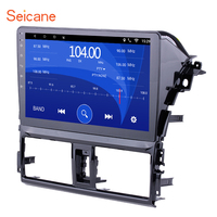 Seicane Android 6.0/7.1 10.1 inch 2Din Car Radio Stereo GPS Multimedia Player Tochscreen Head Unit For 2013 2014 Toyota Vios