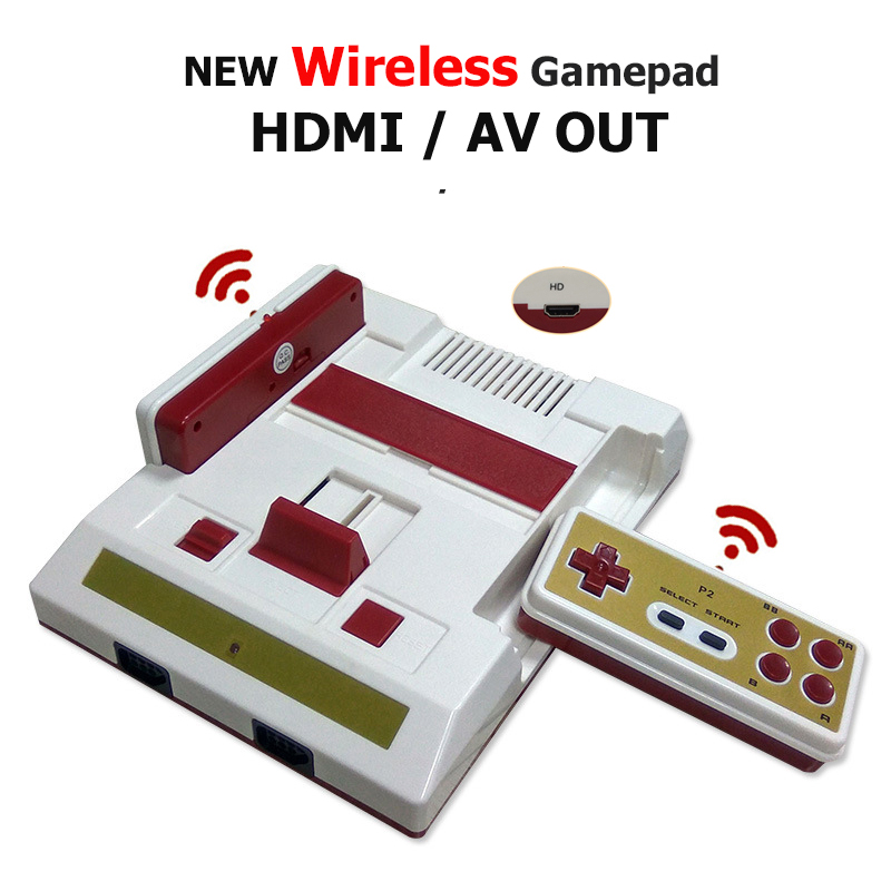 Wireless Gamepad Controlle HDMI Out Retro Classic handheld Family TV video game console For 8bit Family TV game