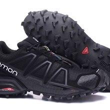 1eb33c6a8 Hombre Salomon velocidad Cruz 4 zapatos Chaussure Homme zapatillas de  deporte al aire libre con caja