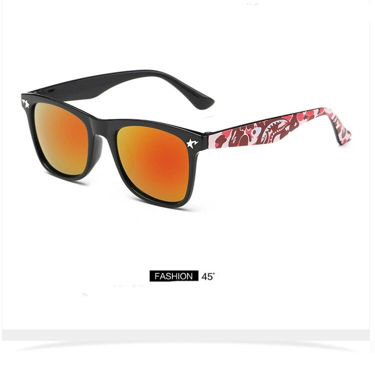 4b2168445d ... MOSILIN Brand Kids Camouflage Sunglasses Baby Military Goggles Glasses  Girls Boys Mirror Coating Eyewear Flat Shark ...