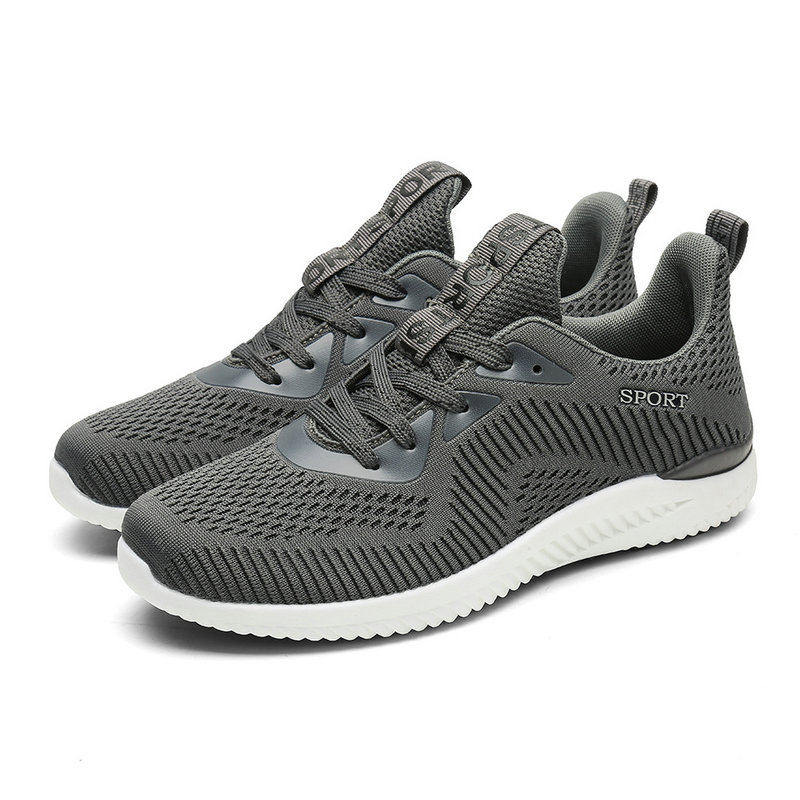 Sneakers Baseball-Shoes Mesh Lace-Up Men Typical-Style Outdoor Soft Walking Jogging Fast