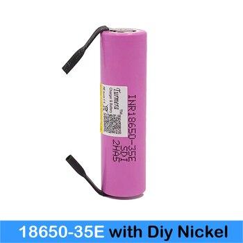 Inr18650 35e Turmera 18650 3500mAh 13A de INR18650 35E 18650 batería Li-Ion 3,7 v batería recargable