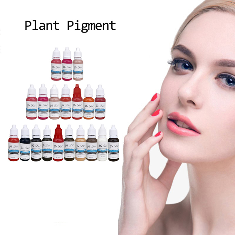 22 colors permanent makeup tattoo color ink pigments body eyebrow paint ink tattoo pigment tattoo accessories22 colors permanent makeup tattoo color ink pigments body eyebrow paint ink tattoo pigment tattoo accessories