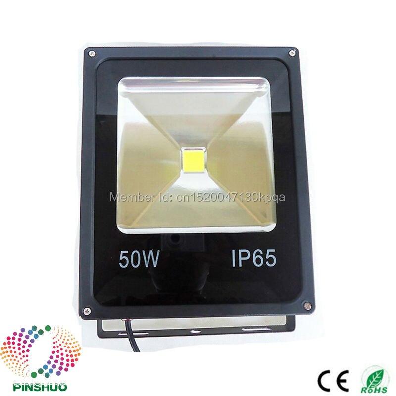 (3PCS / Lot) DC12V 24V Garanti 3 år Brigdelux Chip 50W LED Floodlight 12V LED Flood Light Utomhus Tunnel Spotlight Lampa
