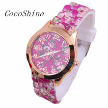 Women Female Watches Wrist Watch Moment Clock Leisure Time Rose Analog Silica Gel Watches Gifts Wholesale Dropshipping #20