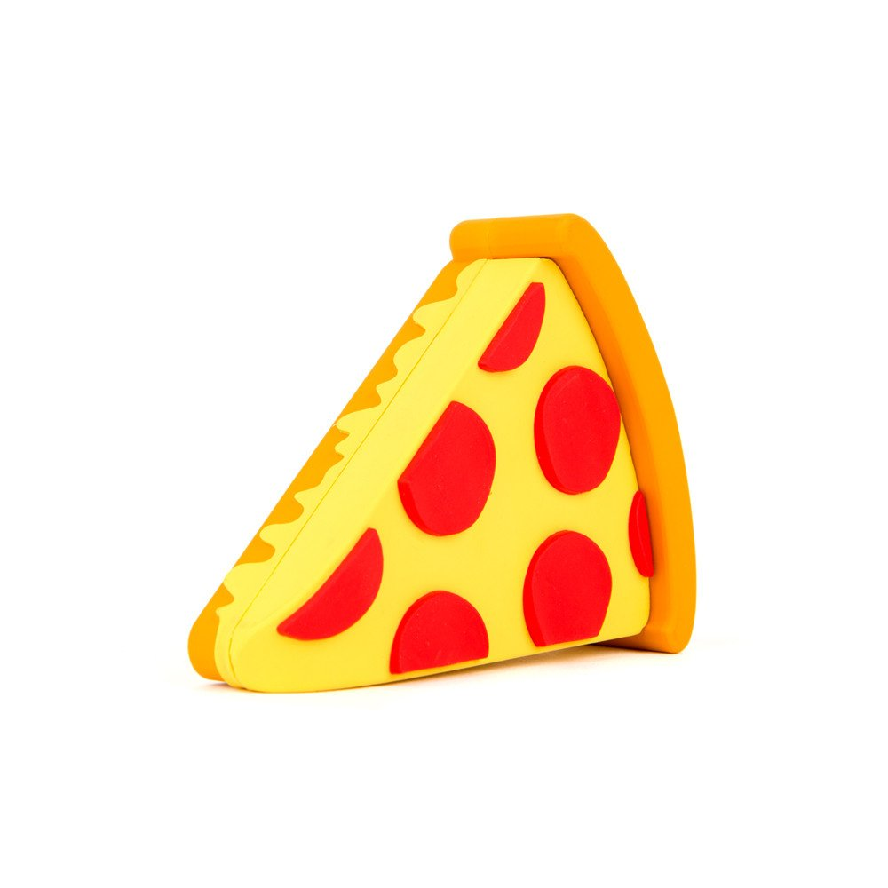 Sale 2600 Mah Pizza Power Bank Emoji Charges Ios Android
