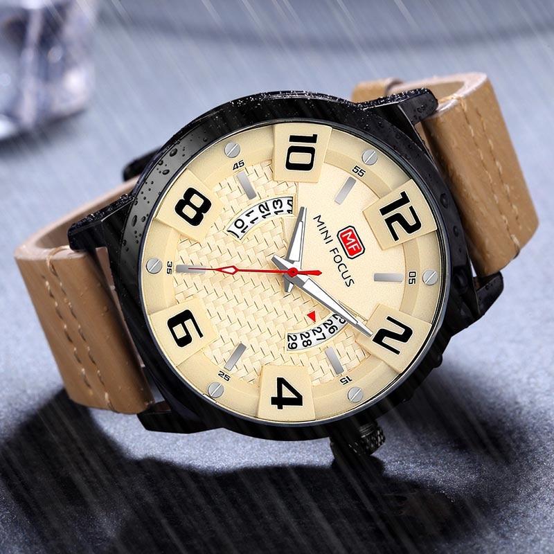 Luksusowa marka MINI FOCUS Mężczyźni Zegarki sportowe Męski zegar - Męskie zegarki - Zdjęcie 4