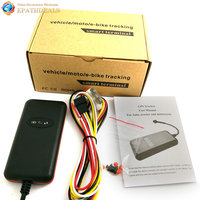 Car GPS Tracker Quad 4 Band GSM GPRS Vehicle Tracking Device Locator For Auto Motorcycle Scooter