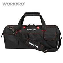 WORKPRO водонепроницаемые дорожные сумки, мужская сумка через плечо, сумки для инструментов, Большая вместительная сумка для инструментов, оборудование