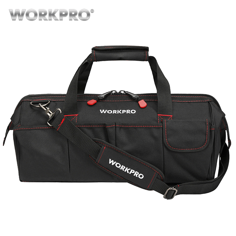 WORKPRO Wasserdichte Reisetaschen Männer Umhängetasche Werkzeug Taschen Große Kapazität Tasche für Werkzeuge Hardware Kostenloser Versand