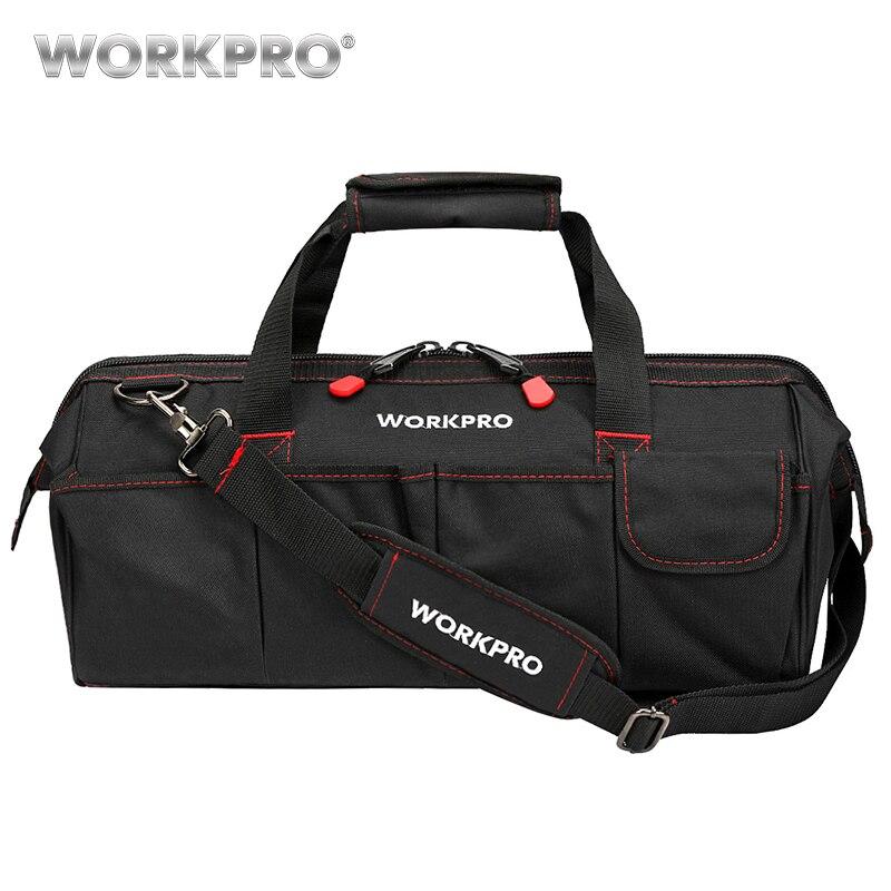WORKPRO Wasserdichte Reisetaschen Männer Umhängetasche Werkzeug Taschen Große Kapazität Tasche für Werkzeuge Hardware Kostenloser Versand