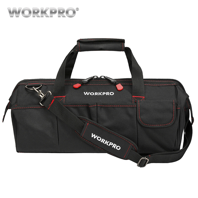 WORKPRO wodoodporne torby podróżne męska torba crossbody torby narzędziowe duża pojemność torba na narzędzia Hardware darmowa wysyłka