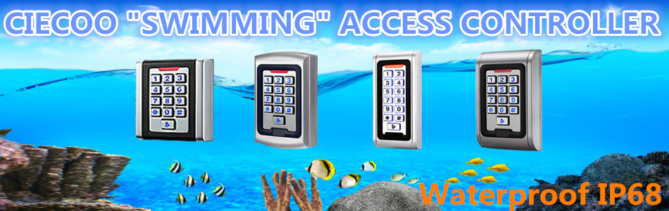 RFID/ EM Card Reader IP68 Waterproof metal standalone Door Lock access control system with keypad Support 2000 card users proxi rfid card reader without keypad wg26 access control rfid reader rf em door access card reader
