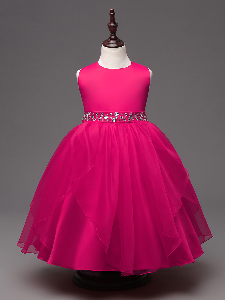 Hot Pink Flower Girl Dress Choice Image Flower Decoration Ideas