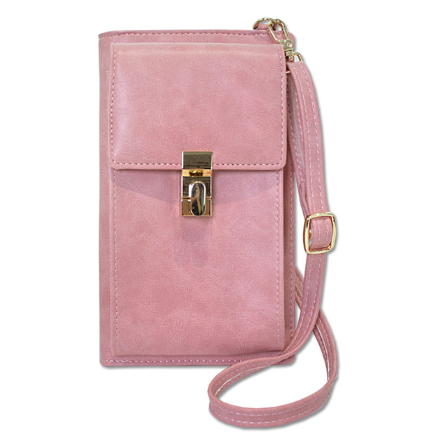 Zipper Lock Shoulder Messenger Bag