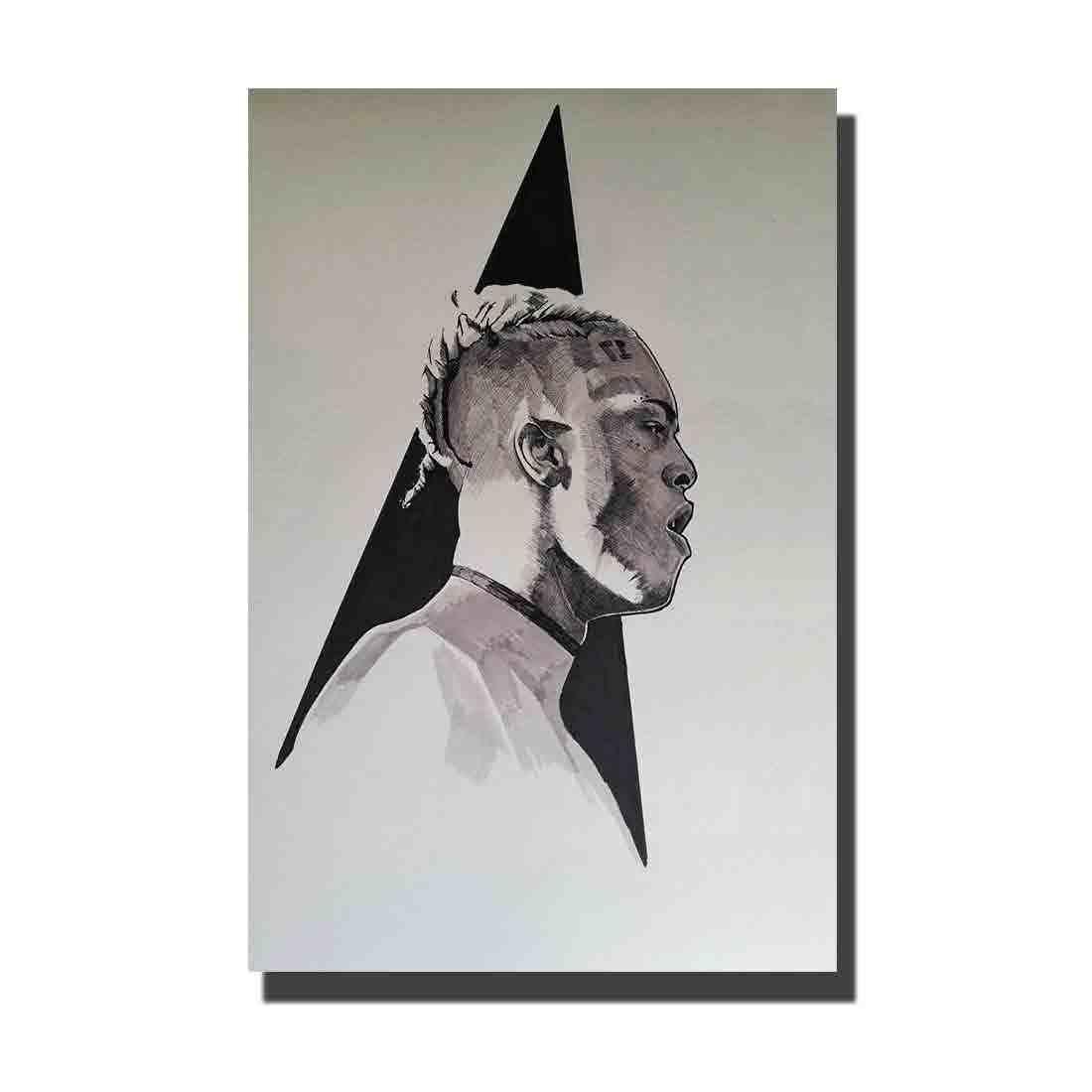 Details about  /B-733 XXXTentacion Rap Hip Hop Music Star Rapper Singer 36 27x40 Fabric Poster