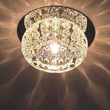 Светодиодный потолочный светильник в современном стиле с кристаллами k9 G4 5 W