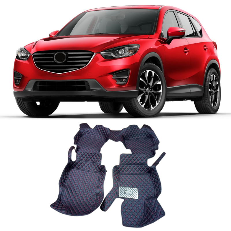 For Mazda CX-5 CX5 2012 2013 2014 2015 2016 Accessories Interior Leather Floor Carpet Inner Car Foot Mat for mazda cx 5 cx5 2012 2013 2014 2015 2016 accessories interior leather floor carpet inner car foot mat
