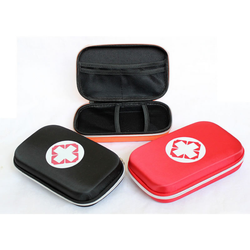 Portable Outdoor First Aid Kit Bag High Capacity EVA Pouch Multi-Layer For Work Home Travel Outdoor Emergency Treatment