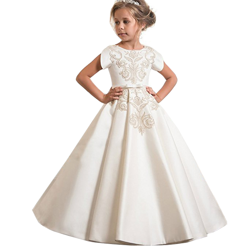 Girls   first communion   dresses     girls     flower     dresses   children weddings prom ball gown   dresses   kids child costume vestido comunion