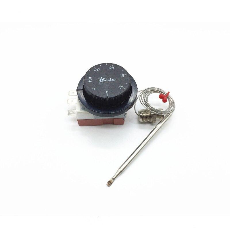 Ts 150sb C Korea Rainbow Capillary Thermostat With Nut 3