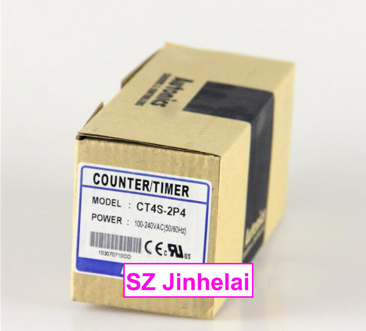 New and original  CT4S-2P4  AUTONICS  COUNTER/TIMER  100-240VAC