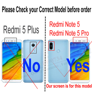 Image 3 - Original Best Xiaomi Redmi Note 5 Pro MEG7S LCD Display 10 Point Touch Screen Digitizer Assembly with Frame Hongmi Note5 Sensor