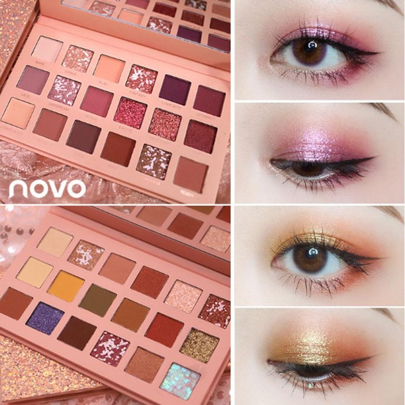 Beauty Essentials Beauty & Health Lml Brand Matte Pearl Light Color Fifteen Color Eye Shadow Cosmetics