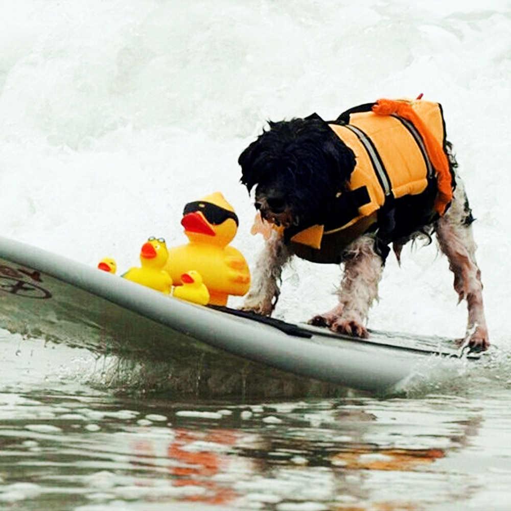 Собака спасательный жилет жилеты на открытом воздухе Собака ткань флоат-щенок спасательный купальный костюм защитную одежду жилет спасательный жилет для собаки Костюм от Xs до xl