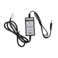 OOTDTY Car MP3 Player Radio Interface Aux In Input Adapter For Toyota Camry Corolla Yaris M35
