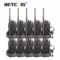 1 Pair Retevis H 777 Walkie Talkie UHF 5W 16CH Two Way Radio Ham Interphone Portable