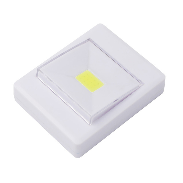 4 * AAA Batterij Operated Draadloze COB LED Nachtlampje Schakelaar ...