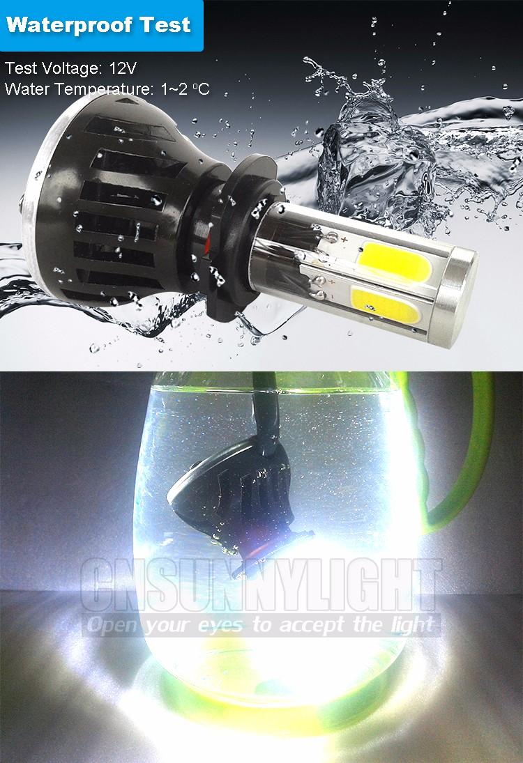 CNSUNNYLIGHT COB LED Headlight Kit H7 H11 H8 9005 HB3 9006 HB4 40W 4000LM Car Head Lamp Fog Light Replacement Bulb Play and Plug (11)