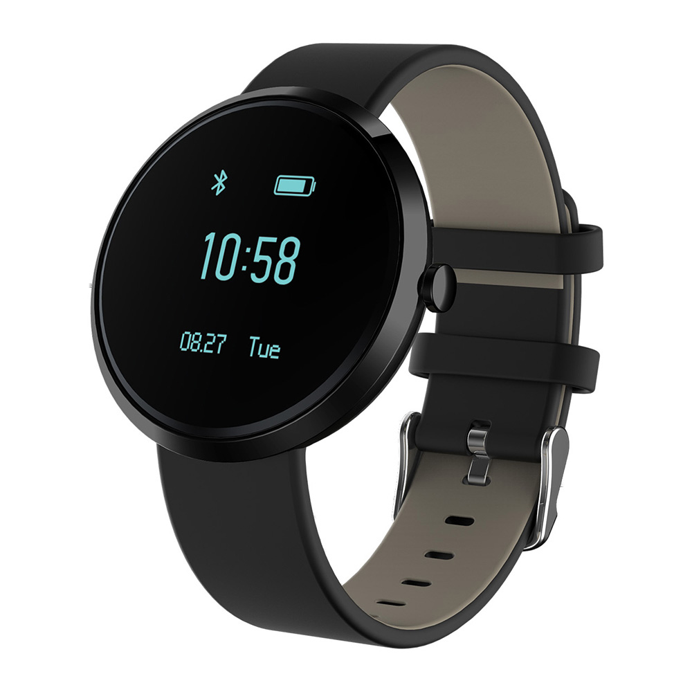 Fashion Bluetooth Smart Bracelet Wristband with Heart Rate Monitor Pedometer Blood Pressure Monitor Smartband for IOS