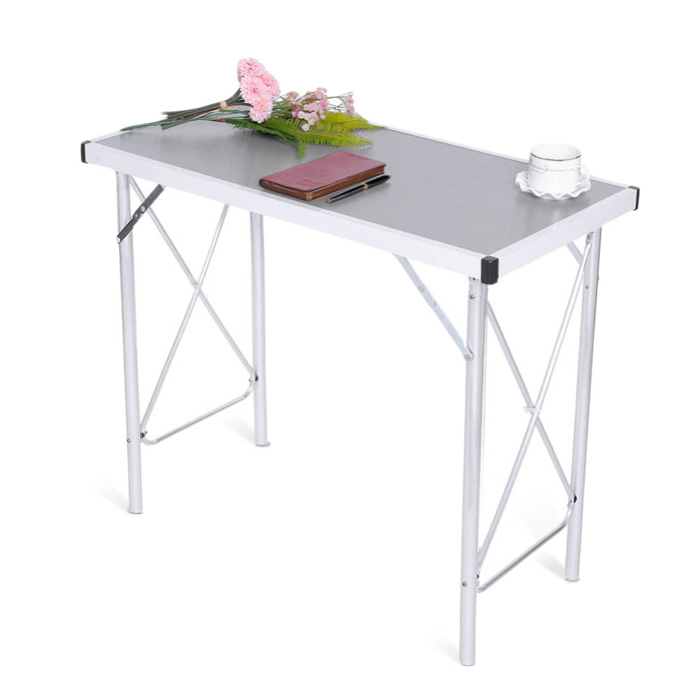 Aluminum Alloy Working Myanmar: Aluminum Alloy Desk Portable Folding Camping Table Laptop