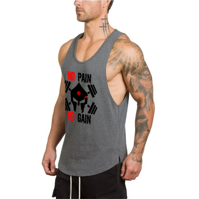 Men's Tank Top for Fitness and Workout