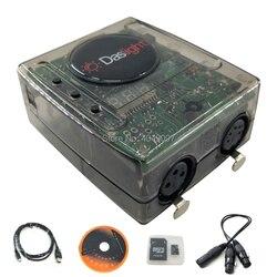Daslight DVC4 DMX Software regolatore della luce della fase moving illuminazione console per la Discoteca del DJ Luce Della Fase di Illuminazione USB Interfaccia