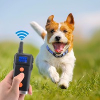 Remote Control Beeper Dog Collars Rechargeable and Waterproof Anti Barking Dog Training Collar with Advanced Bluetooth for Dogs