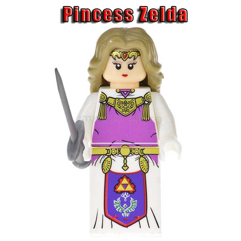 LEGOing игра Legend of Zelda Link принцесса Зельда игрушка из фильма история Вуди и Джесси Базз Лайтер инопланетянин Марио Альтман Legoing фигурки