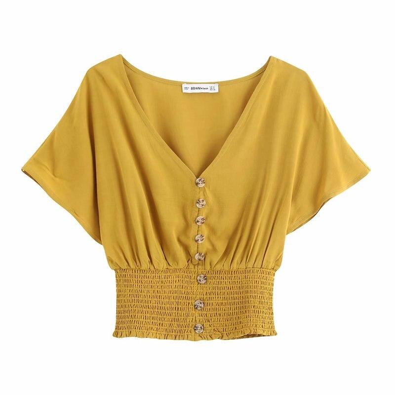BB30-9424 European and American fashionable high waist short jacket